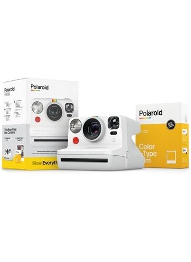 Polaroid Polaroid Now Instant Fotoğraf Makinesi Ve Hediye Seti Beyaz